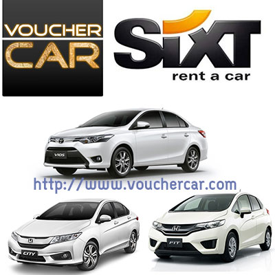 SIXT 1,500cc (CITY, VIOS, JAZZ)